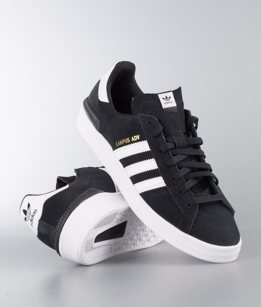 Adidas Skateboarding Campus Adv Skor Core Black/Ftwr White/Ftwr White