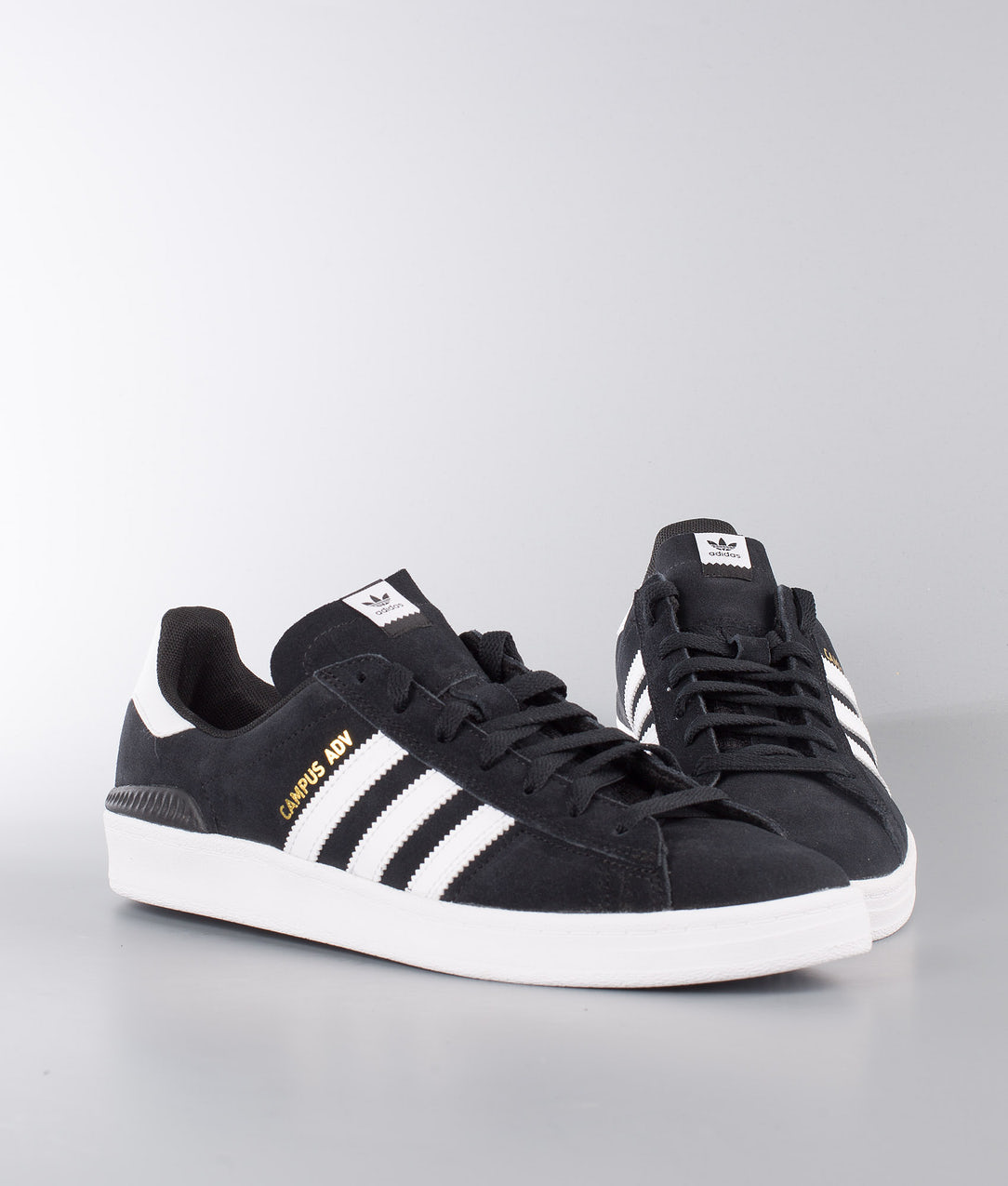 best website d633a 3ce93 Adidas Skateboarding Campus Adv Shoes Core Black/Ftwr White/Ftwr White