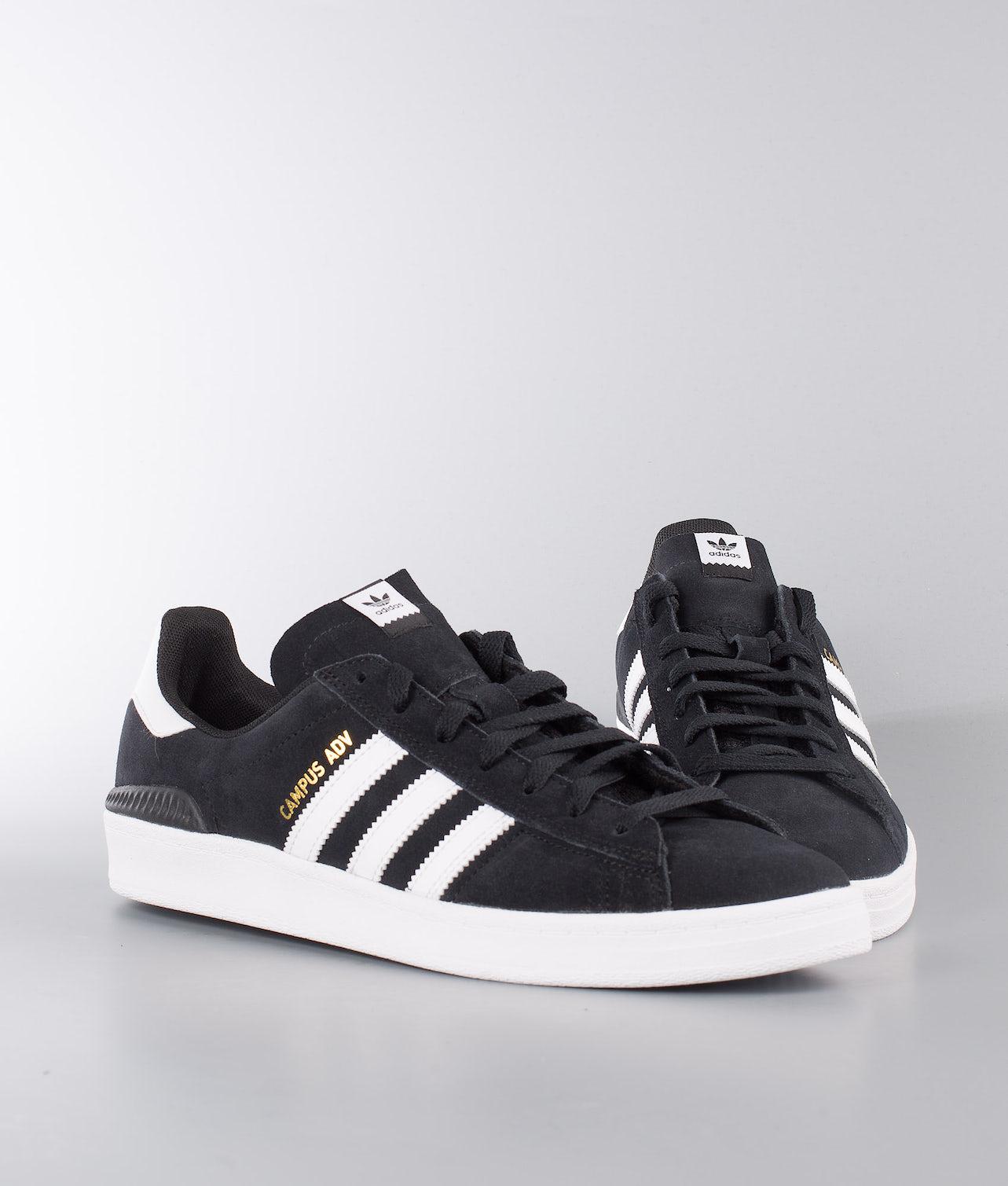 Adidas Skateboarding Campus Adv Sko Core Black/Ftwr White/Ftwr White