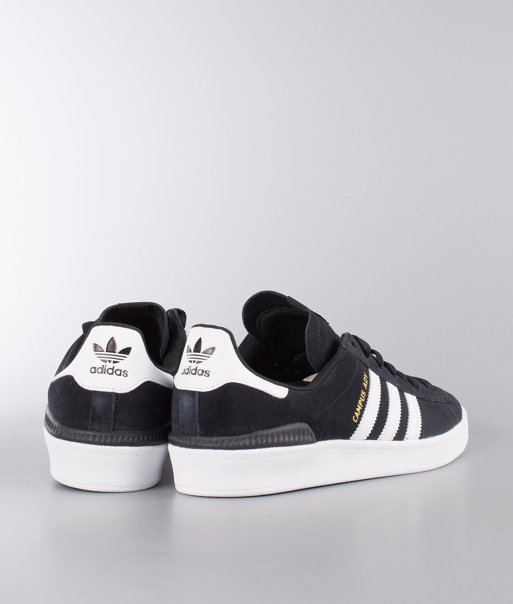 b6d6077499cb Adidas Skateboarding Campus Adv Shoes Core Black Ftwr White Ftwr ...