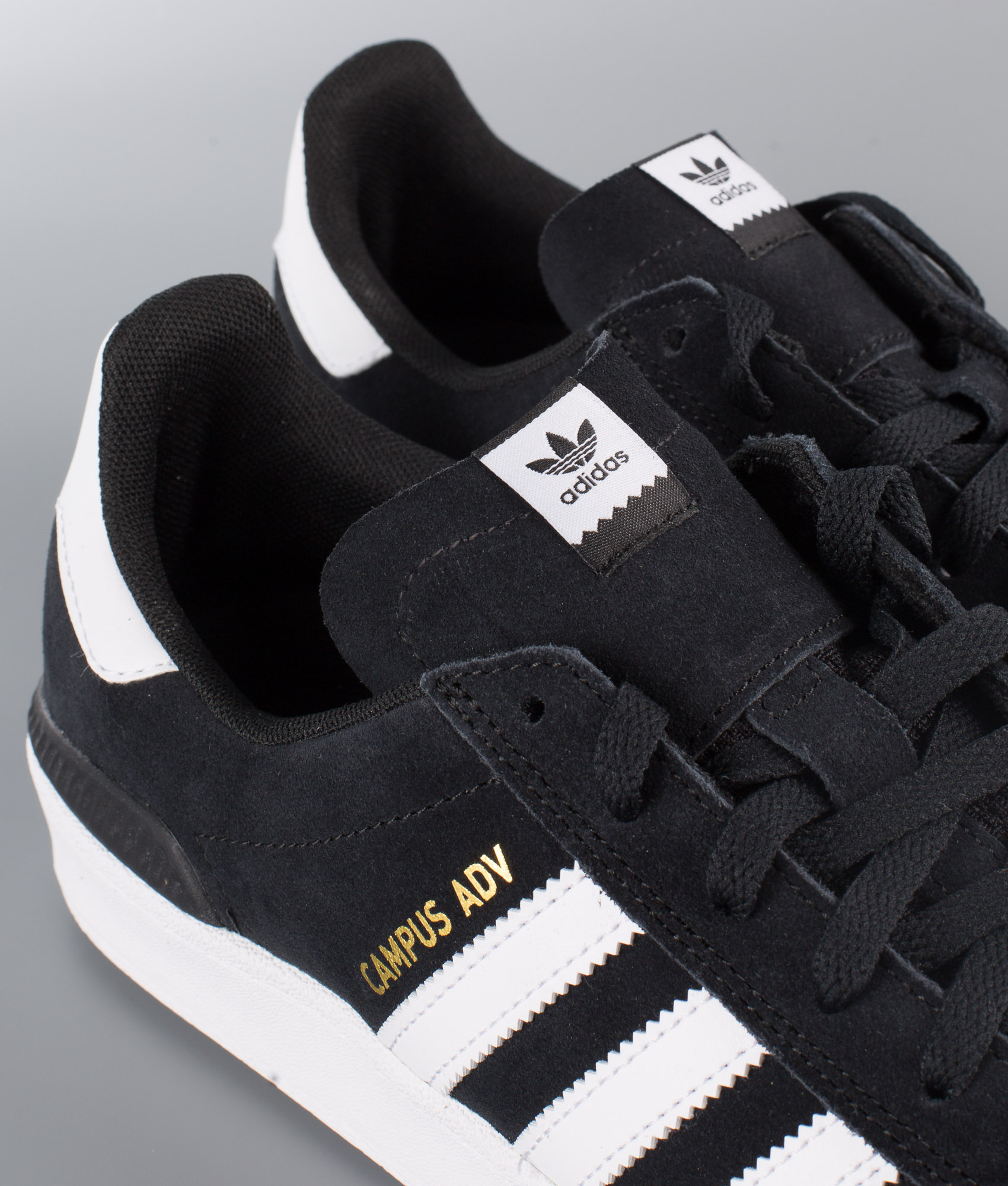 Adidas Skateboarding Campus Adv Sko Core BlackFtwr WhiteFtwr White