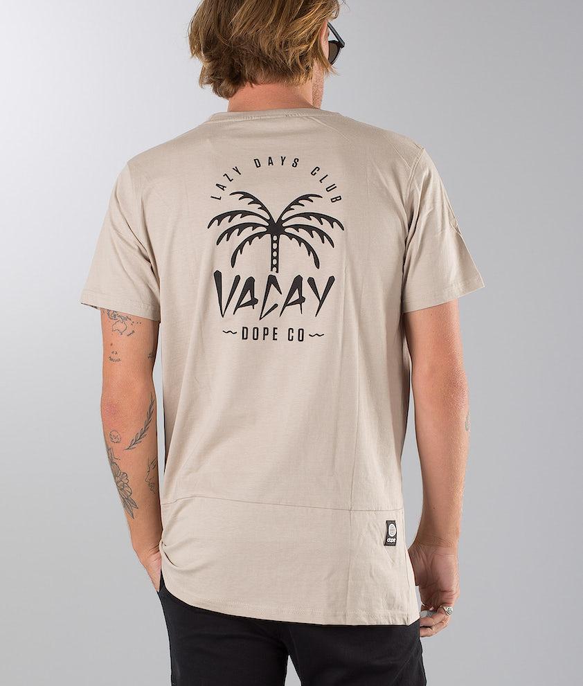 Dope Palm T-shirt Sand