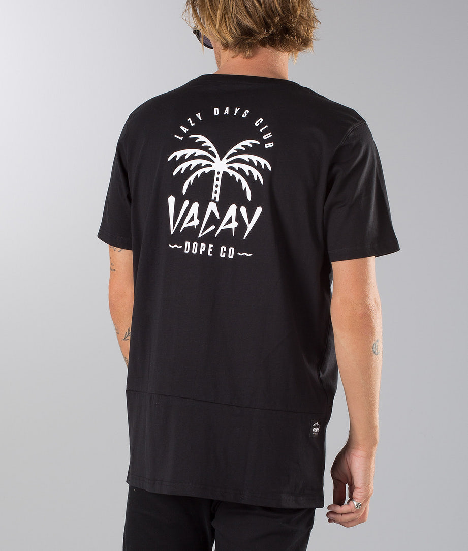 Dope Palm T-shirt Black