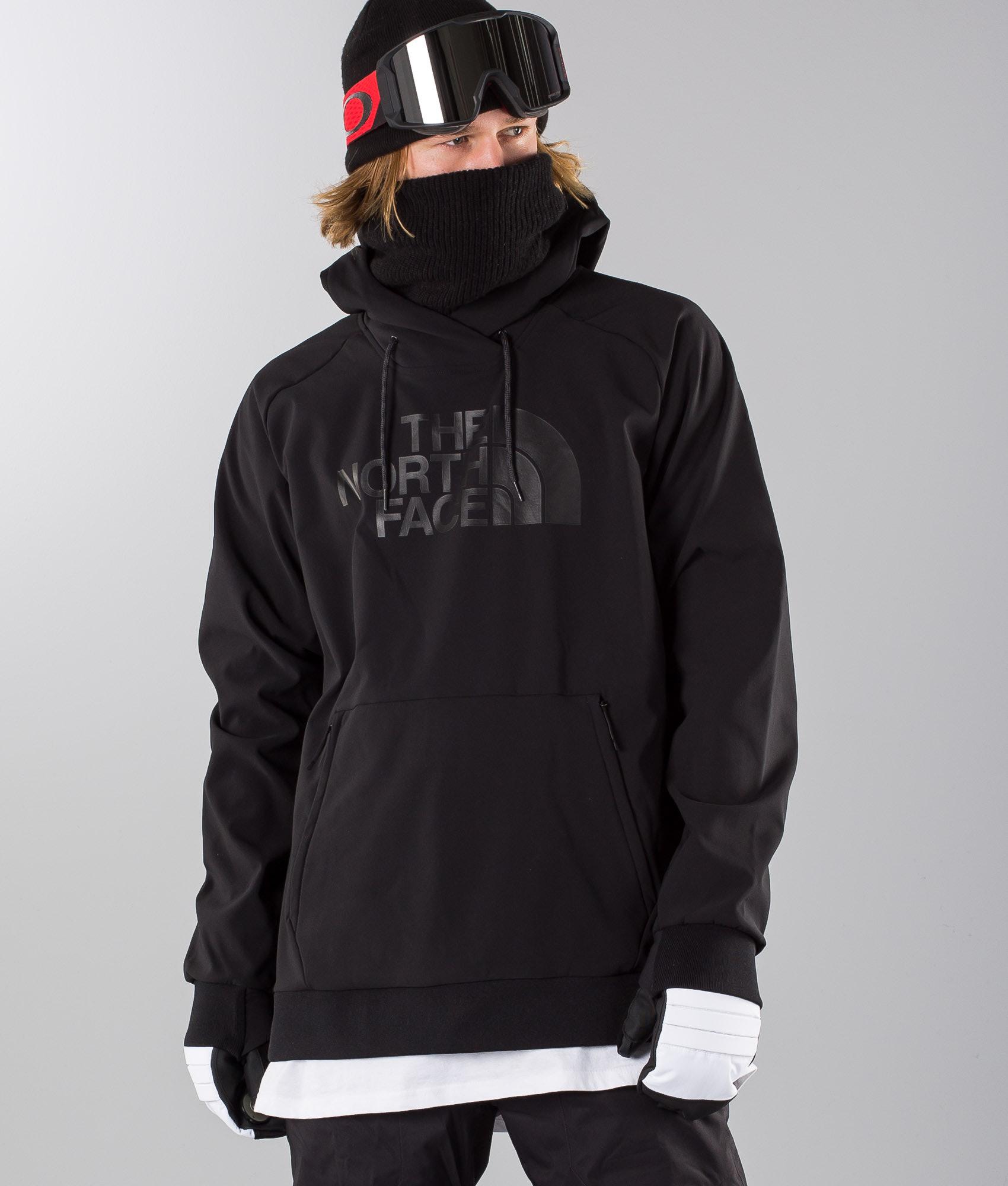 9656133ab03939 The North Face Tekno Logo Hoodie Snowboard Jacket Black - Ridestore.com