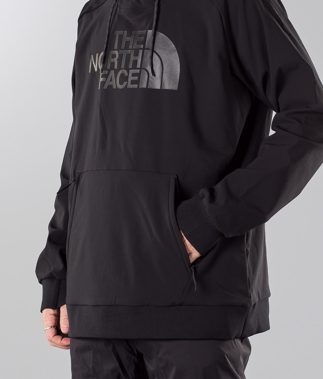 sale retailer 9c1f2 9e246 The North Face Tekno Logo Hoodie Snowboard Jacket Black
