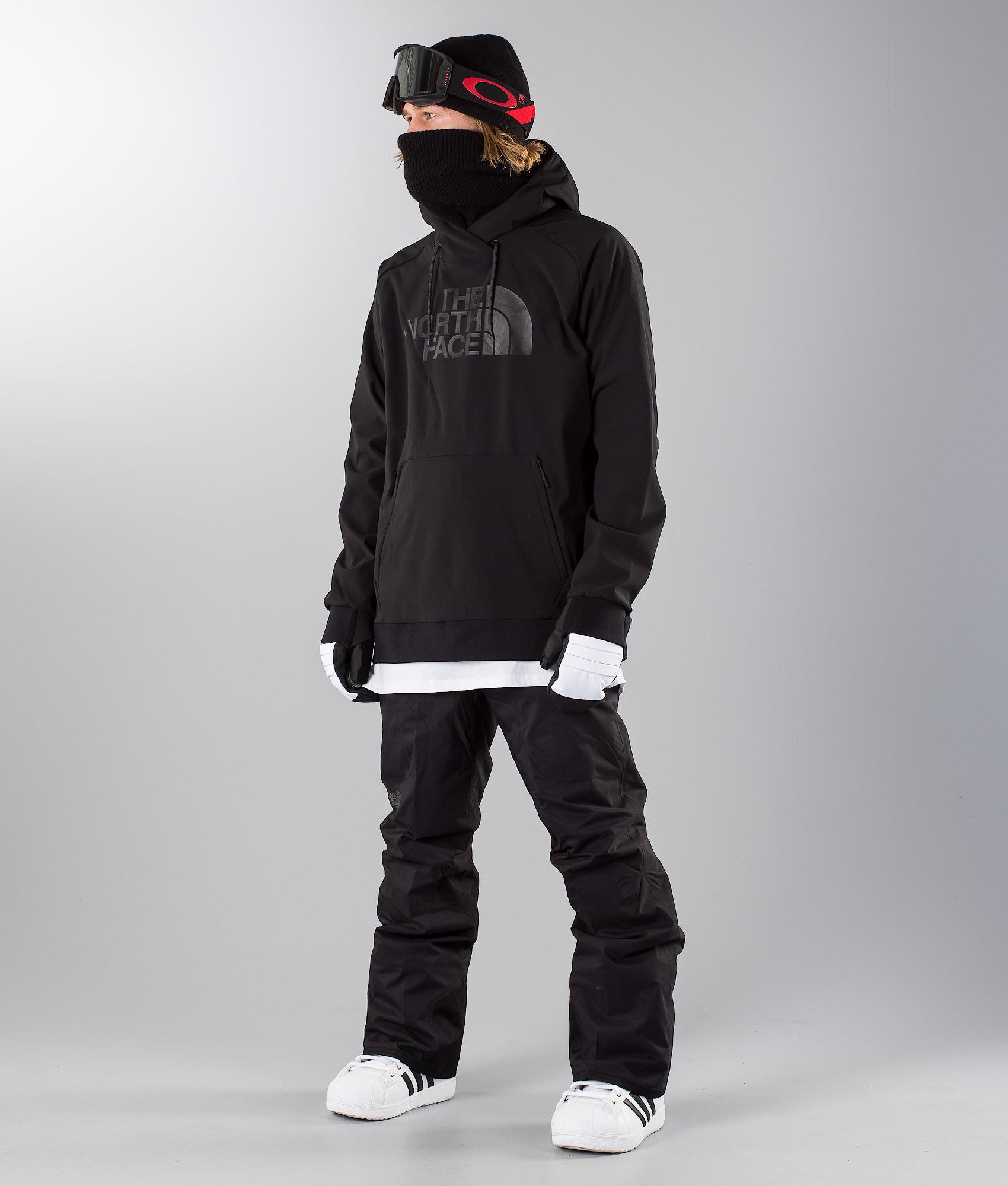 b3b59aed9 The North Face Tekno Logo Hoodie Snowboard Jacket Black