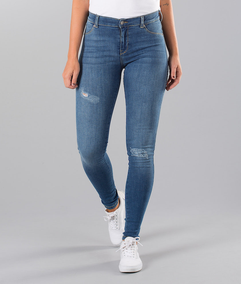 Dr Denim Plenty Bukser Vagabond Blue