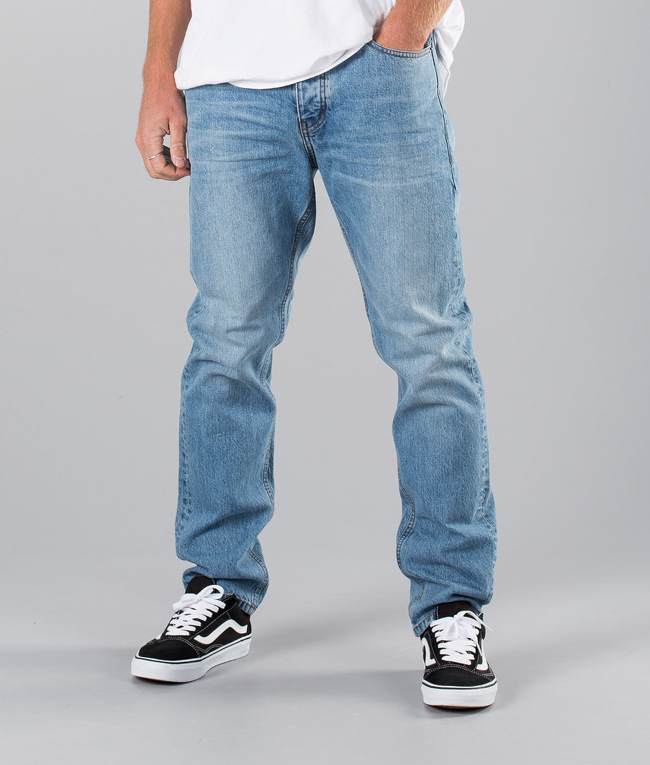 Dr Denim Gus Hosen Light Blue Wash