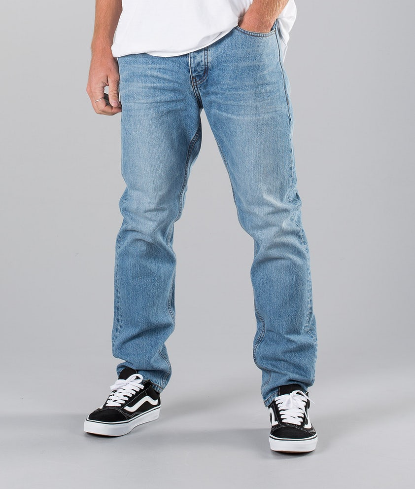 Dr Denim Gus Bukser Light Blue Wash