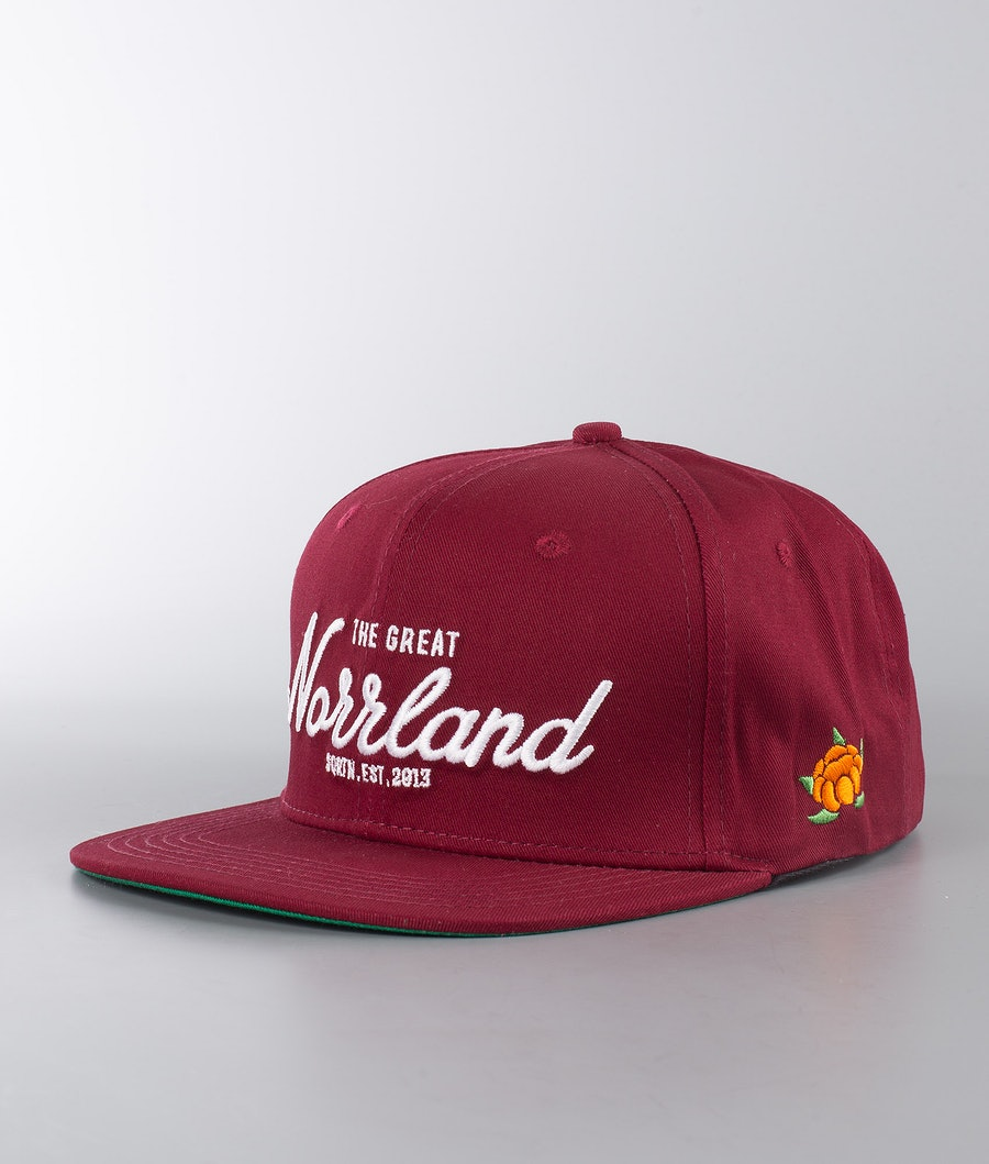 SQRTN Great Norrland Caps Maroon