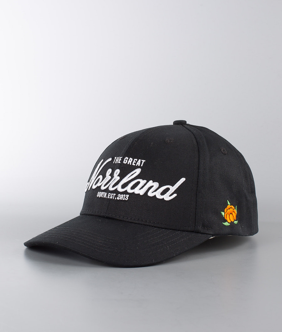 SQRTN Great Norrland Hooked Casquette Black