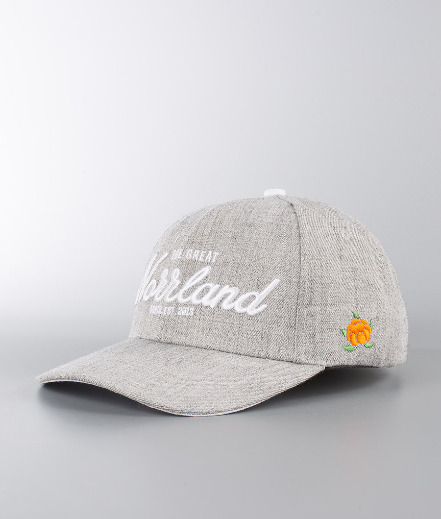 SQRTN Great Norrland Hooked Cap Grey