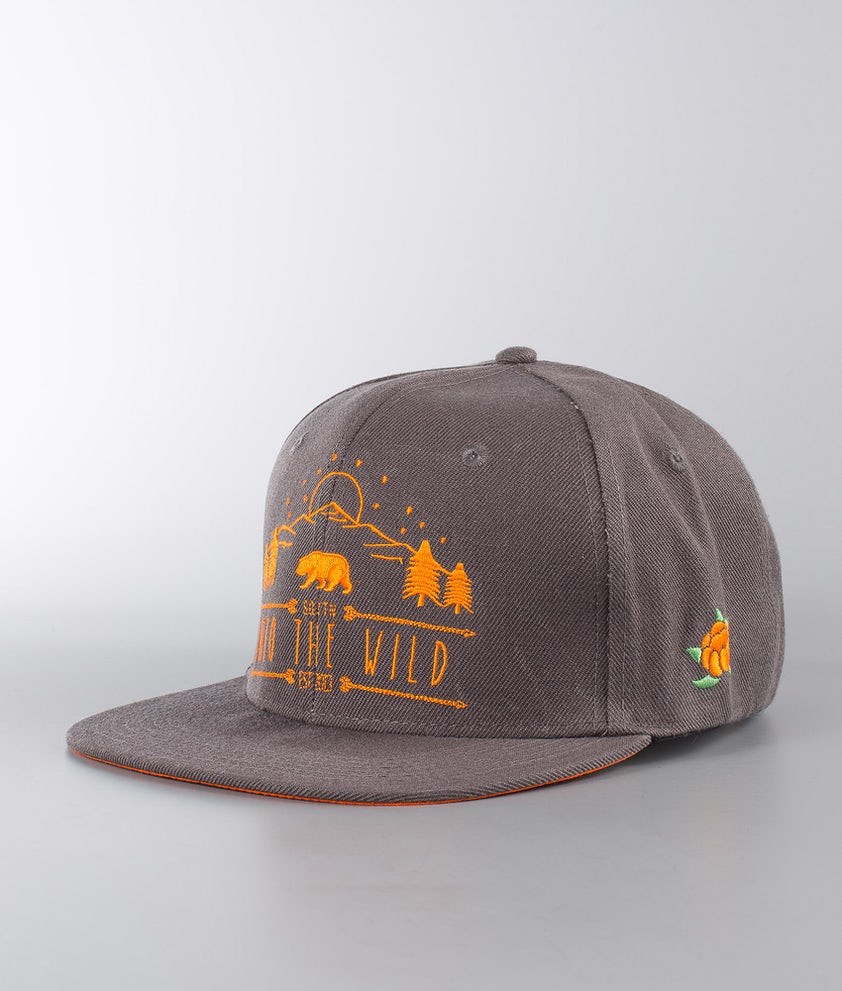 SQRTN Into The Wild Cap Charcoal