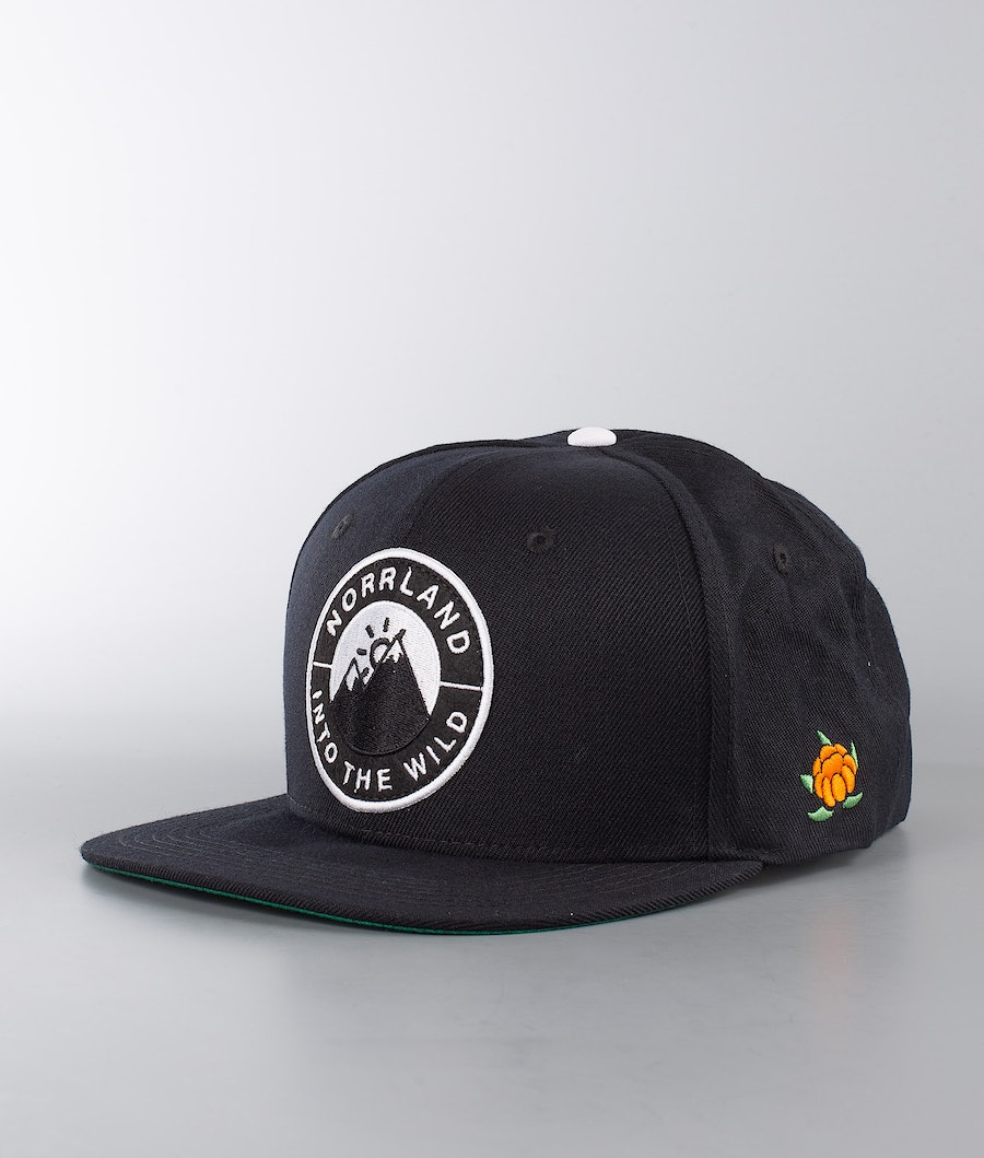 SQRTN Into Emblem Cap Black