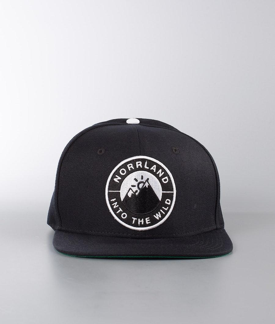SQRTN Into Emblem Caps Black