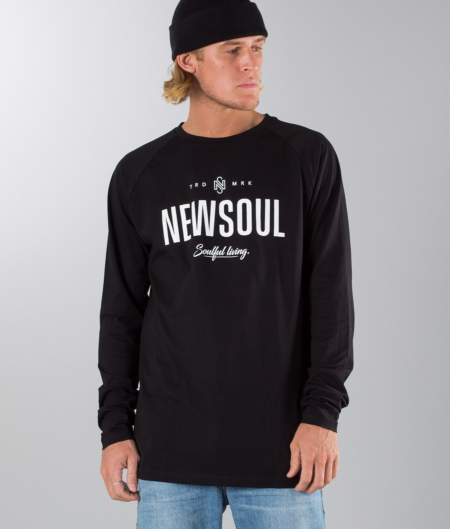 Newsoul Dust Longsleeve Black