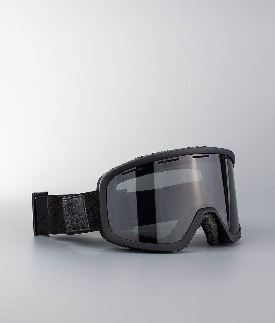 Appertiff DWG Masque de ski Pitch Black