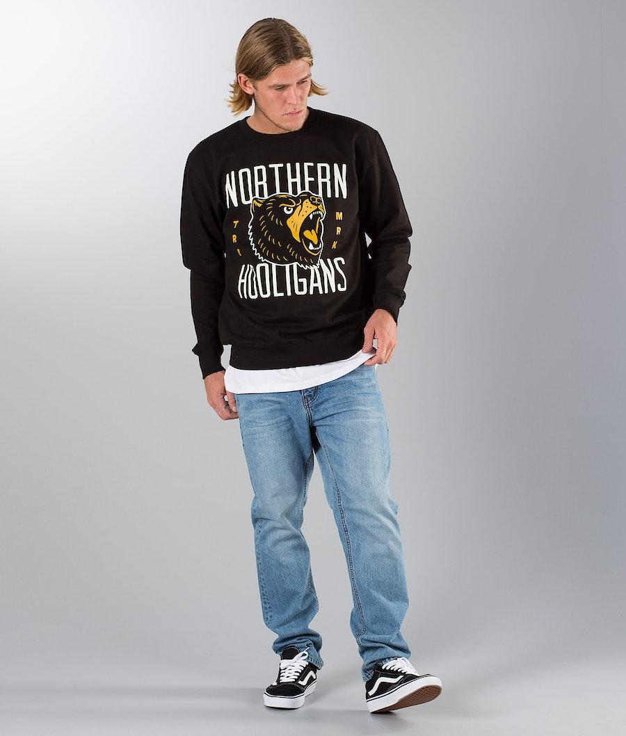 Northern Hooligans Bears Crewneck Gensere Black