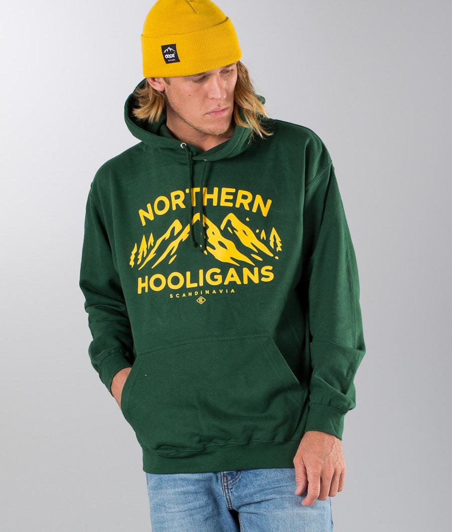 Northern Hooligans 3 Peaks Hood Forest Green