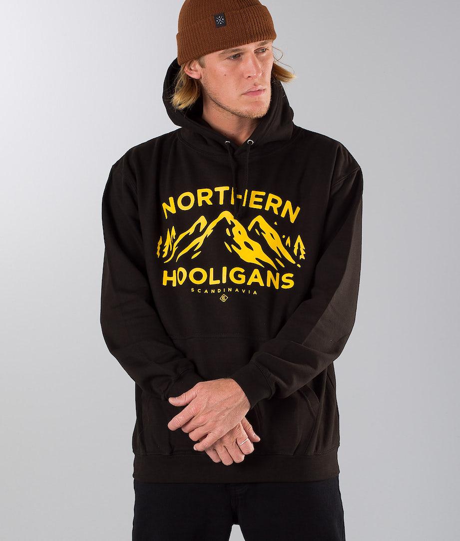Northern Hooligans 3 Peaks Hood Black