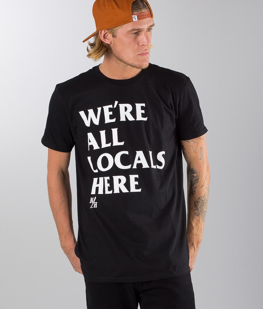 Northern Hooligans All Locas (FSDT)s T-shirt Black