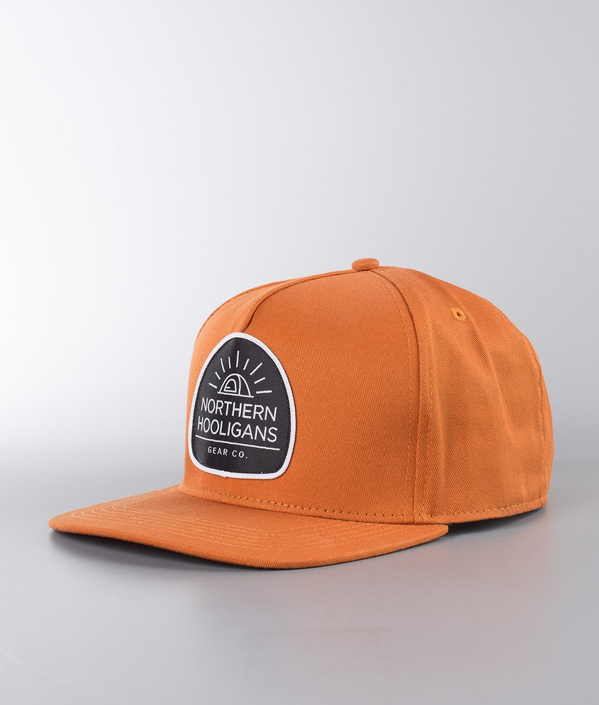 Northern Hooligans Tent Snapback Caps Brown