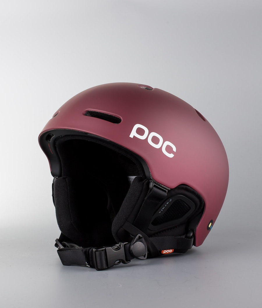 Poc Fornix Casco Snow Copper Red
