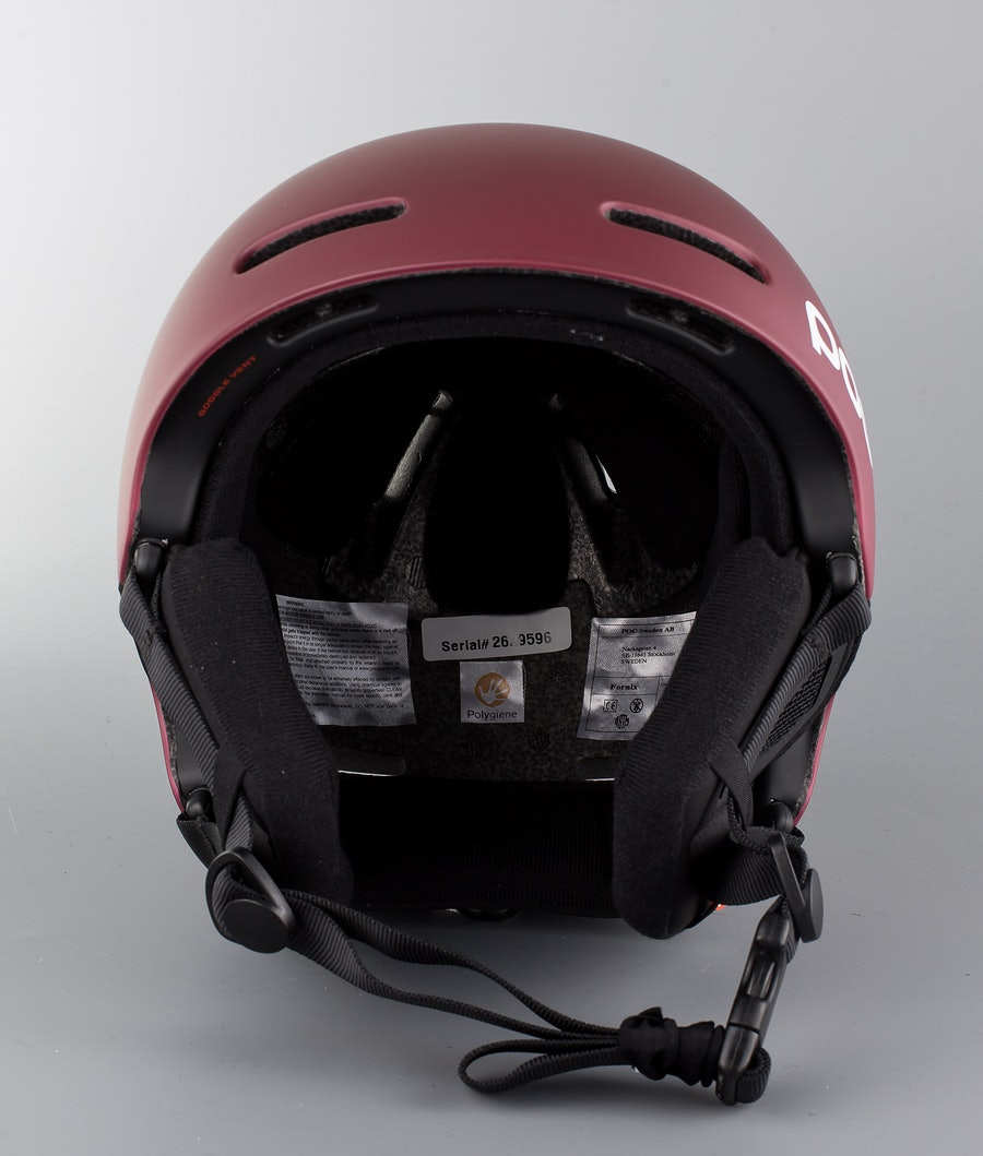 Poc Fornix Ski Helmet Copper Red