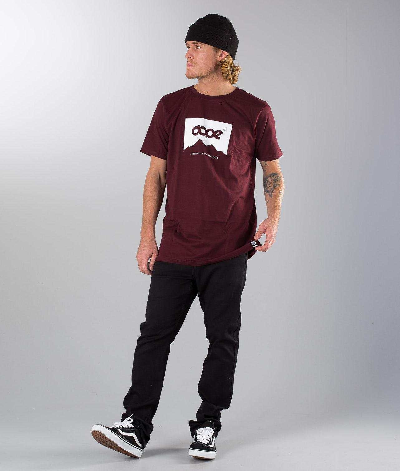 Dope MT T-shirt Burgundy