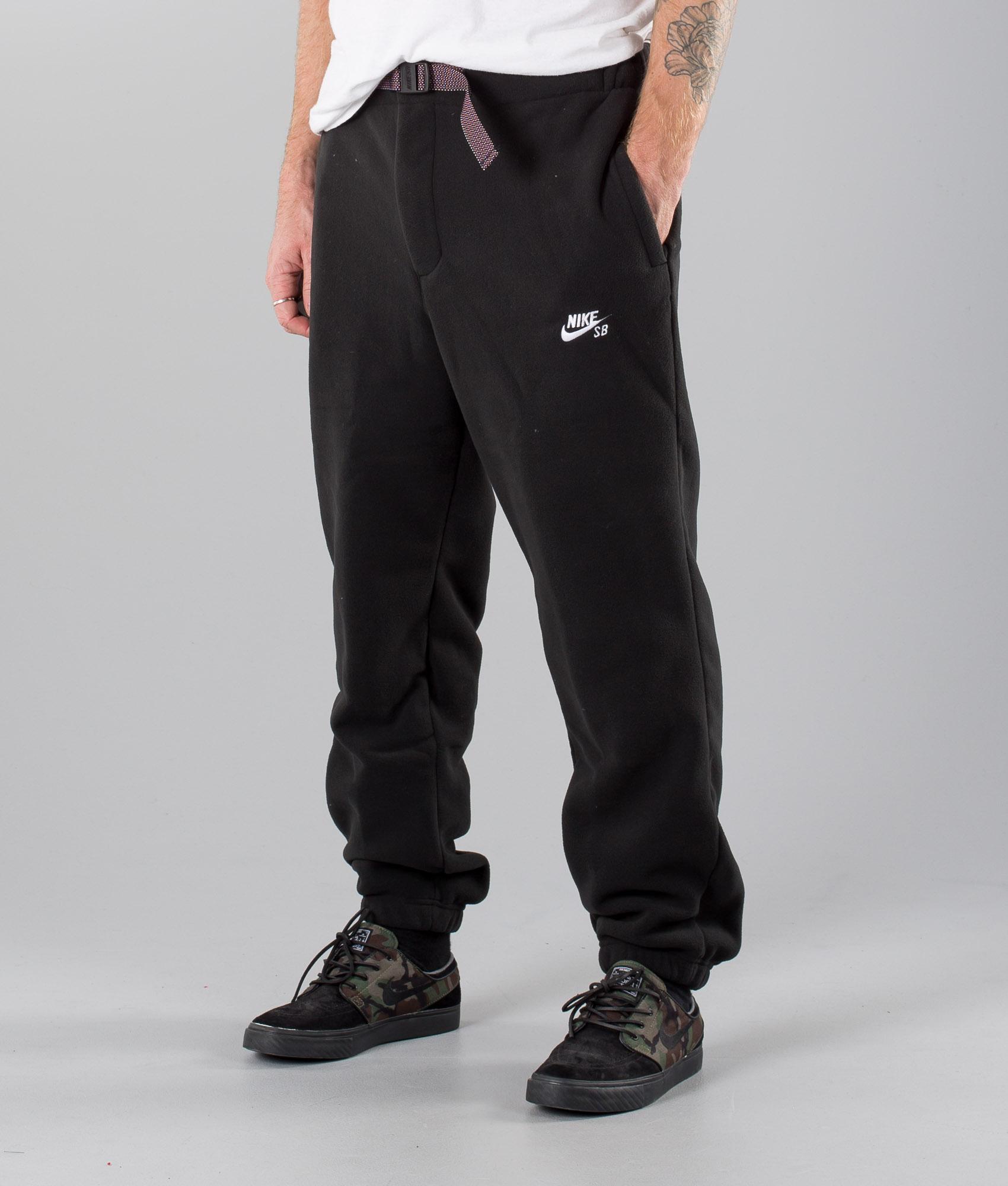 classic styles reasonably priced online retailer Nike Sb Polartec Pants Black/White