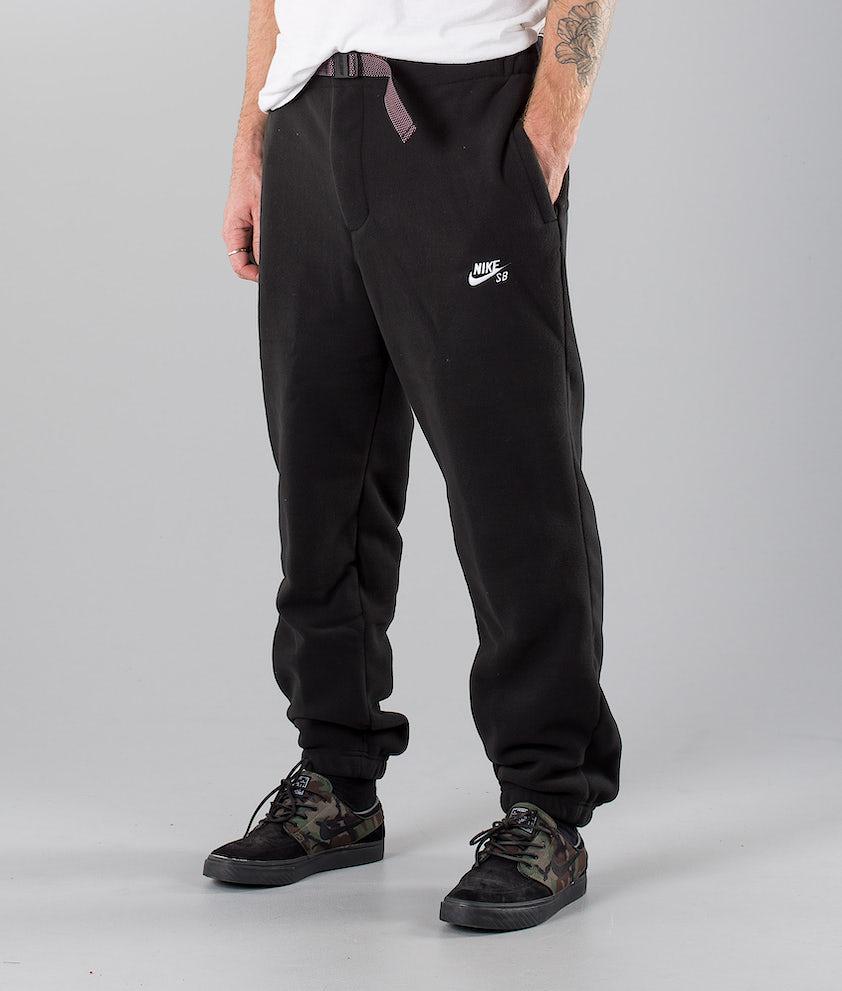 Nike Sb Polartec Housut Black/White