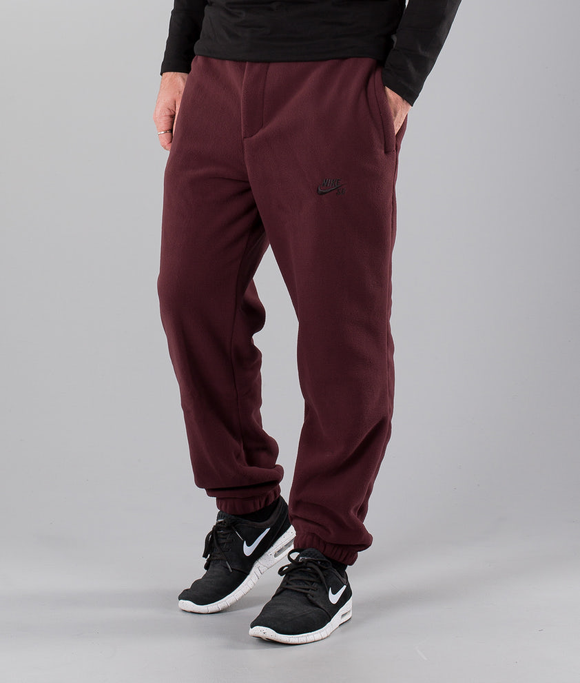Nike Sb Polartec Bukser Burgundy Crush/Black