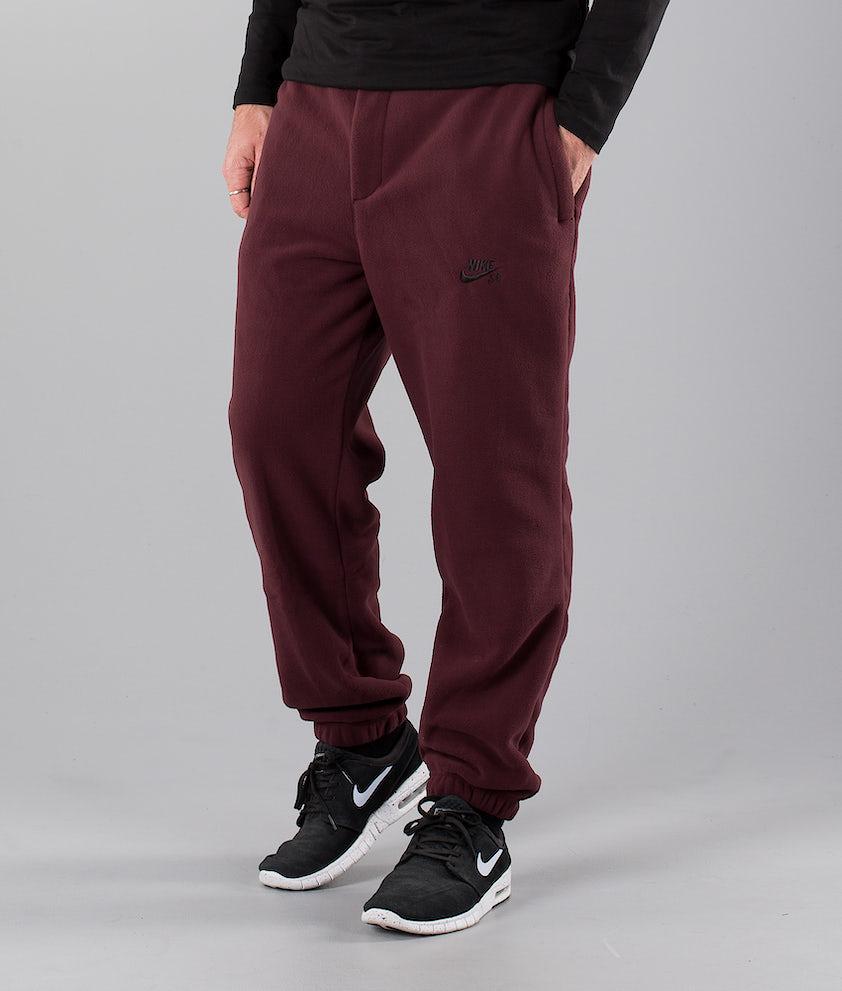 Nike Sb Polartec Housut Burgundy Crush/Black