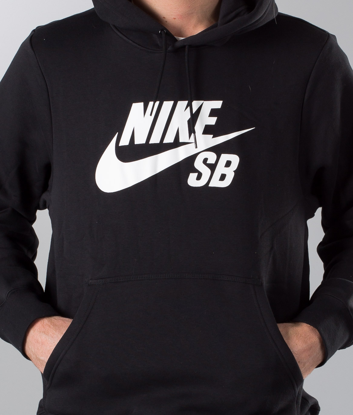 Nike SB Icon Black Quarter Zip Sweatshirt