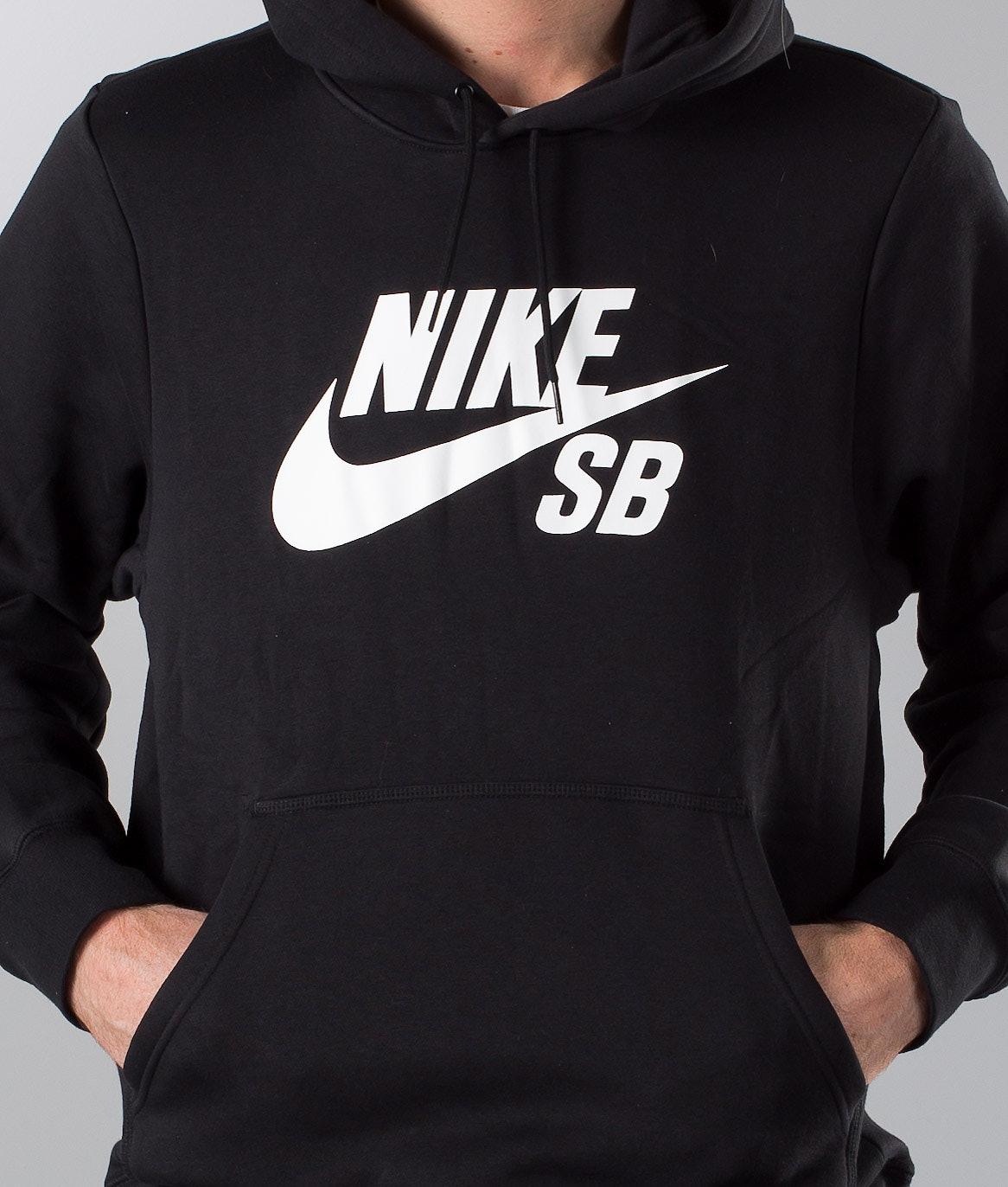Nike Icon Hoodie Po Essnl Huppari Black White - Ridestore.fi 395da782e2