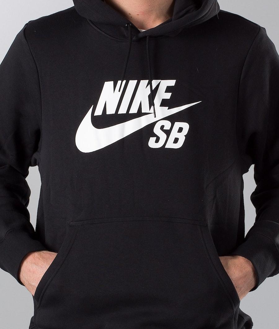 Nike SB Icon Po Essential Hood Black/White