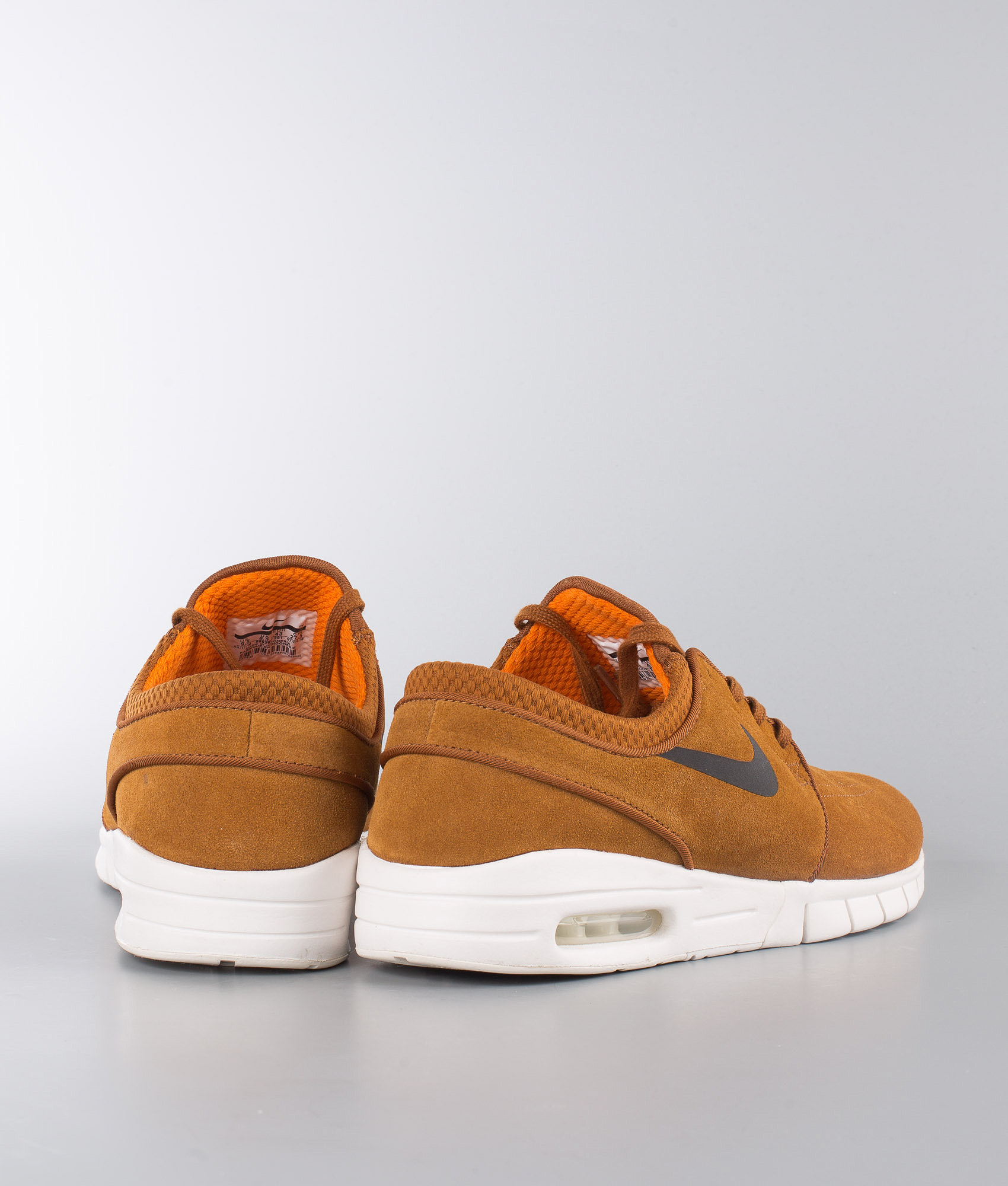 Nike Stefan Janoski Max L Shoes Hazelnut Black-Ivory-Clay Orange ... dd1a8a685761