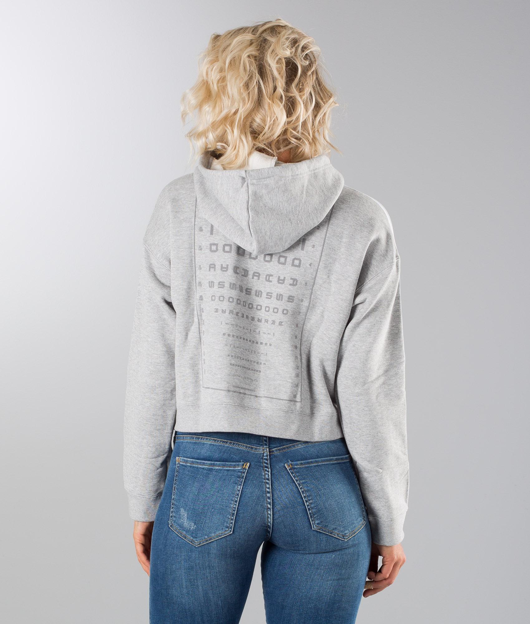 Adidas Originals Nov Felpa Medium Grey Heather