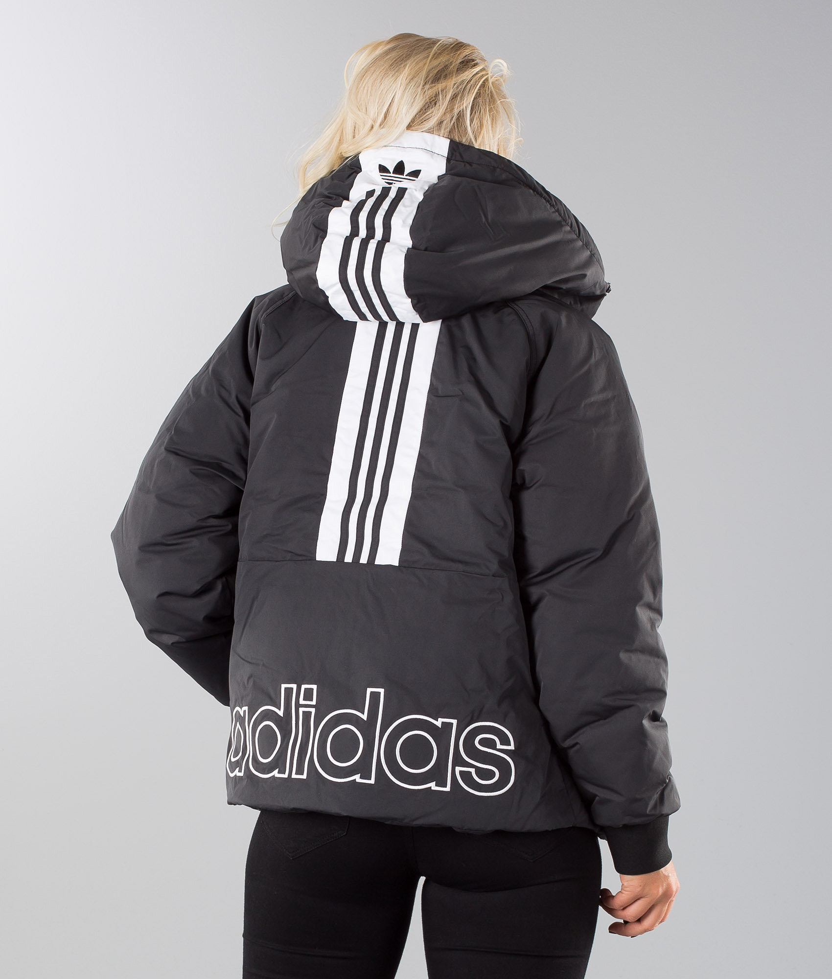 61bf371819c8 Adidas Originals Short Down Jacket Black - Ridestore.com