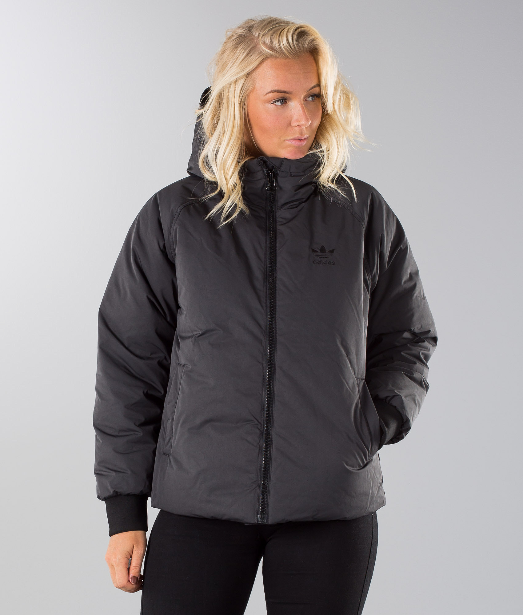 89037f001b62 Adidas Originals Short Down Jacket Black - Ridestore.com