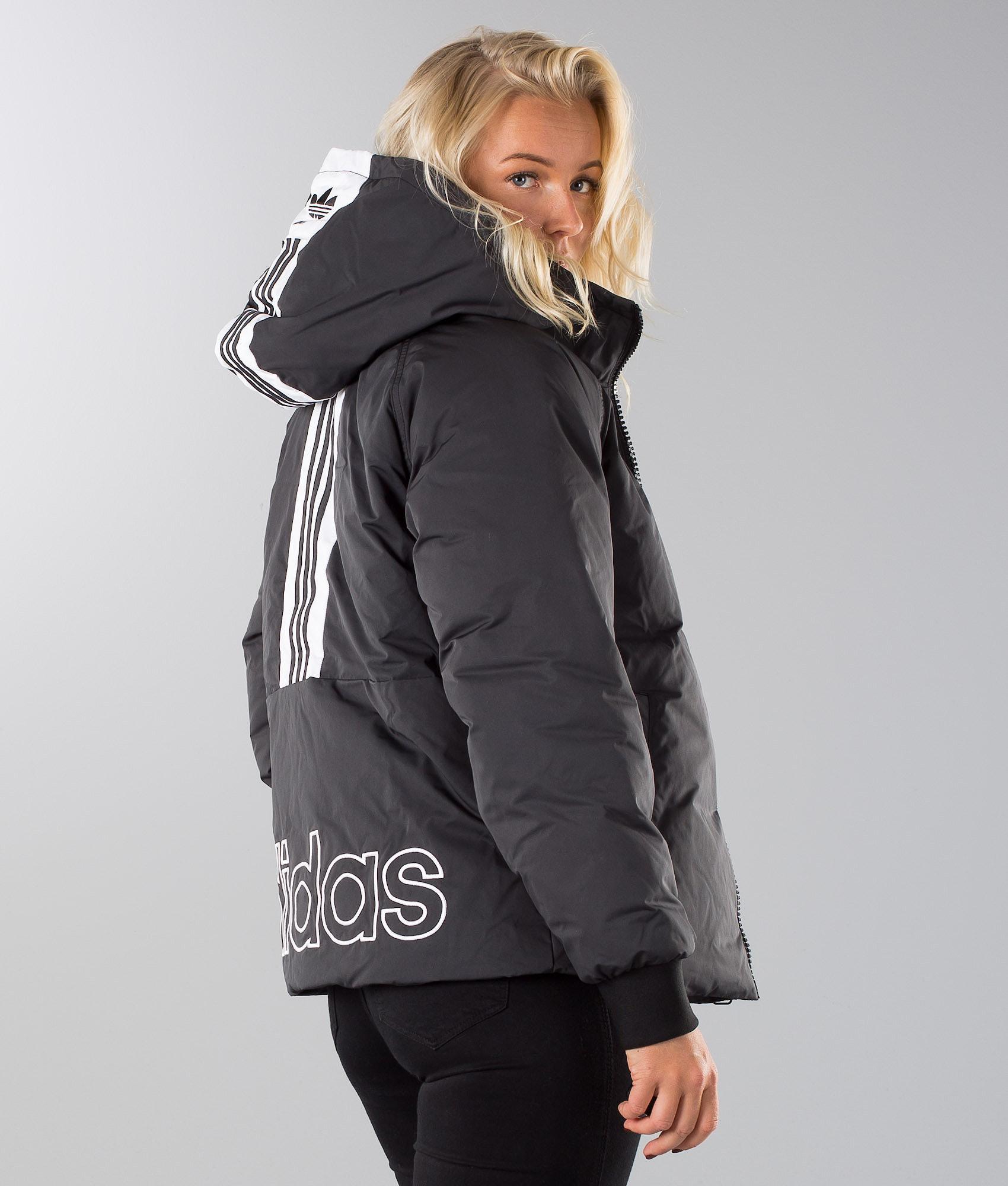 756214165 Adidas Originals Short Down Jacket Black - Ridestore.com