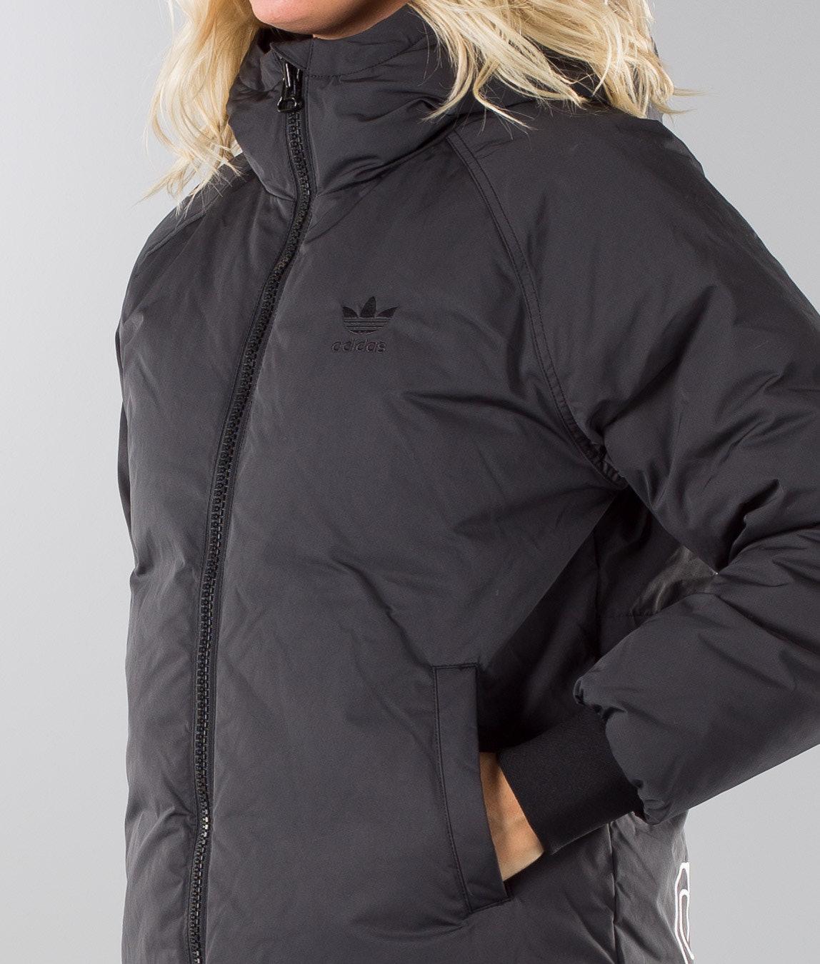 2a2b5140bfbd Adidas Originals Short Down Jacket Black - Ridestore.com
