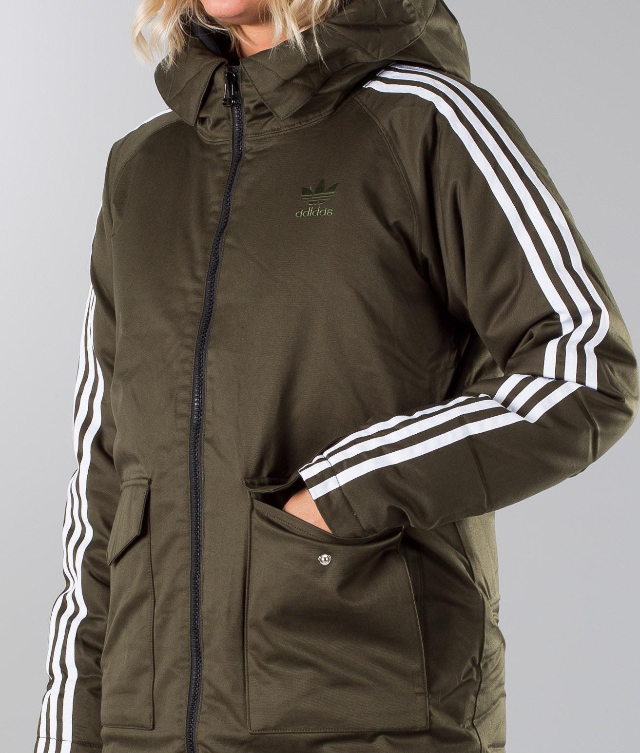 6cf5ce02 Adidas Originals Down Parka Jakke Night Cargo - Ridestore.no
