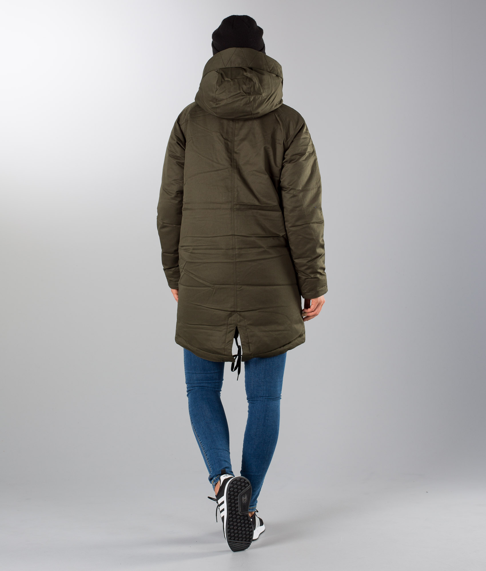 Adidas Originals Down Parka Coat Night Cargo