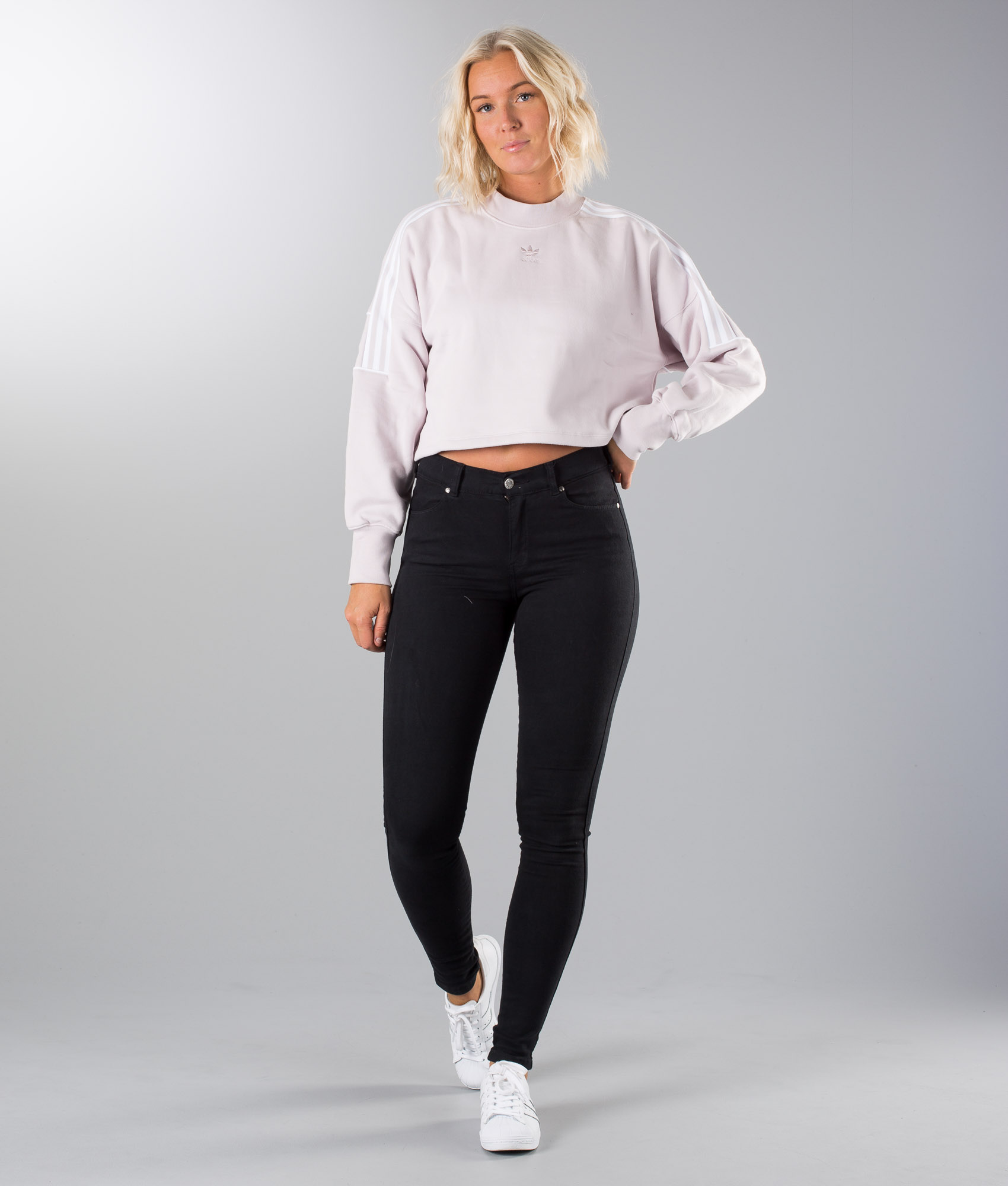 Adidas Originals Sweatshirt Gensere Ice Purple Ridestore.no