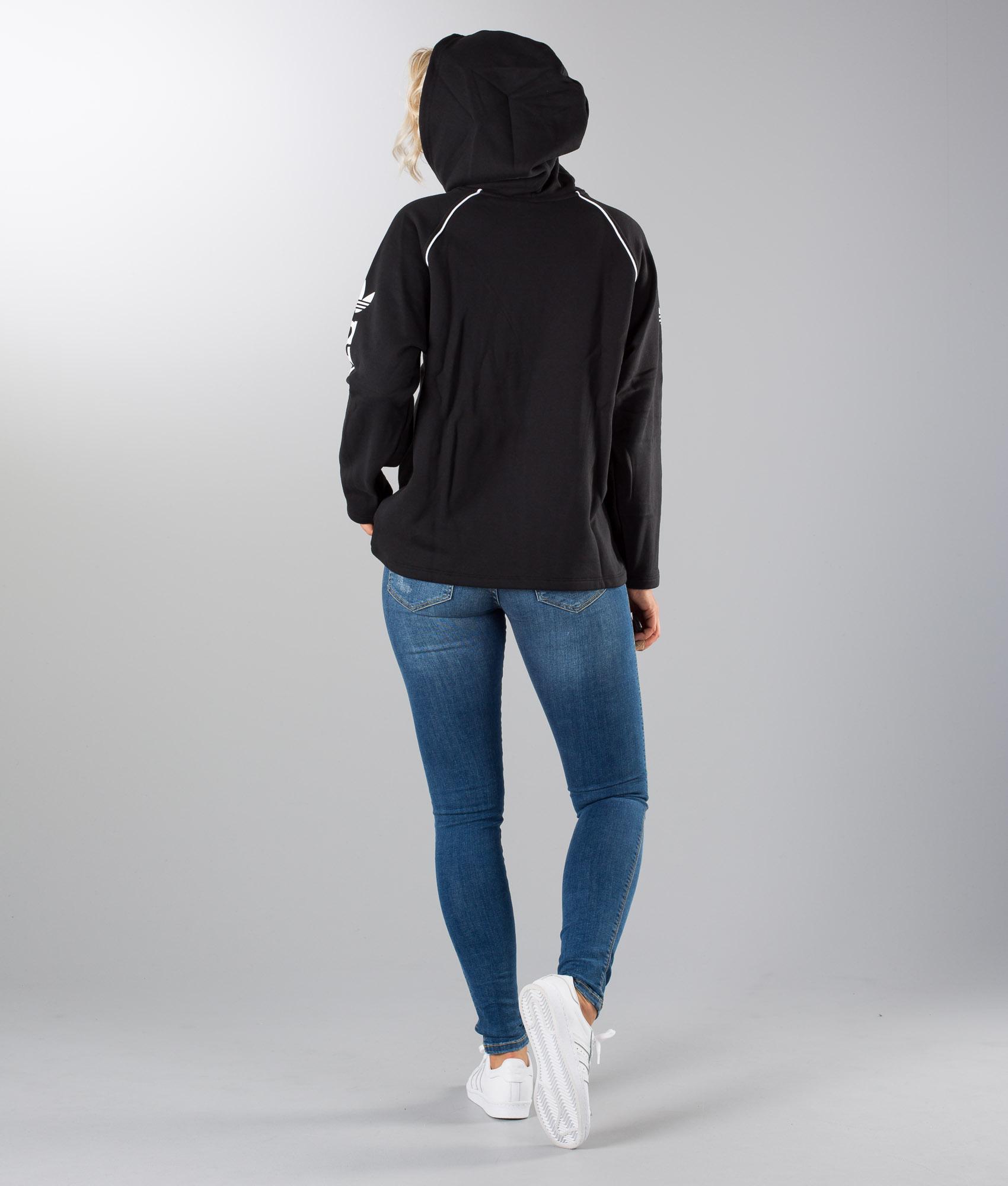 Cappuccio Black Adidas Felpa it Originals Ridestore Con Hoodie A8qwqI