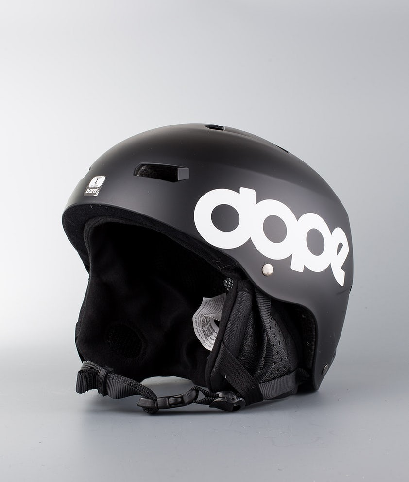Bern Macon Dope Classic Eps Boa Casco Snow Matt Black
