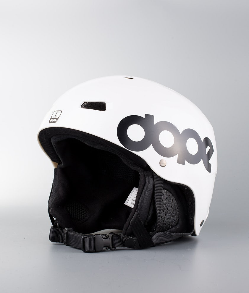 Bern Macon Dope Classic Eps Boa Casco Snow Matt White