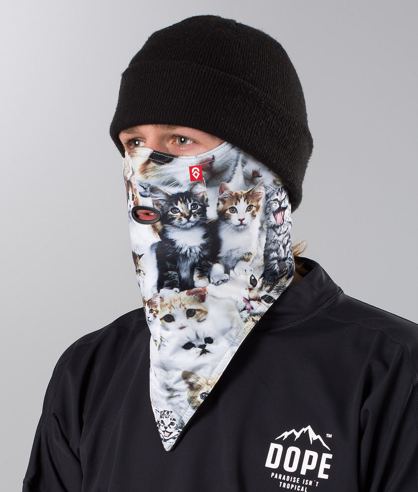 Airhole Standard Ansiktsmask Meow