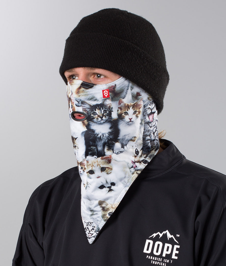 Airhole Standard Facemask Meow